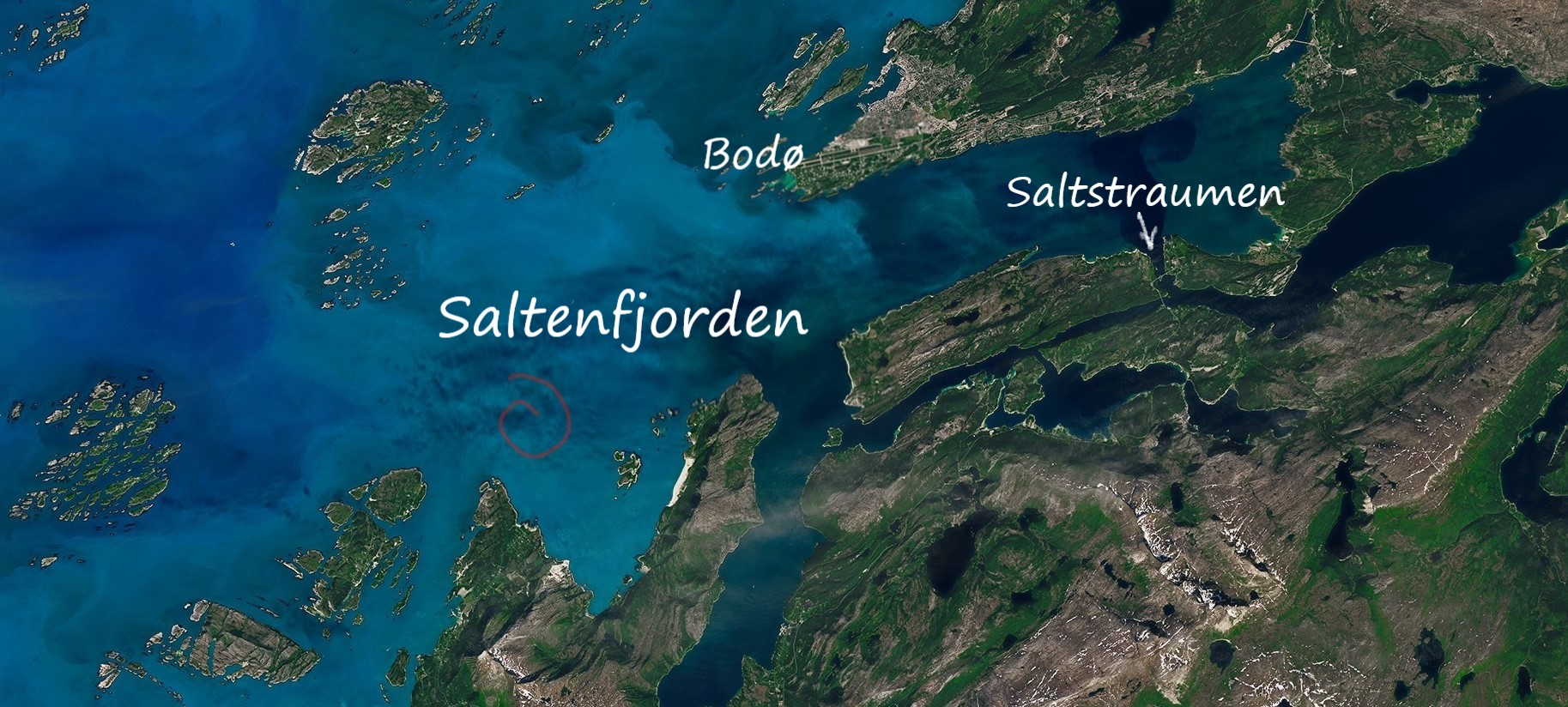 Saltenfjorden Norway