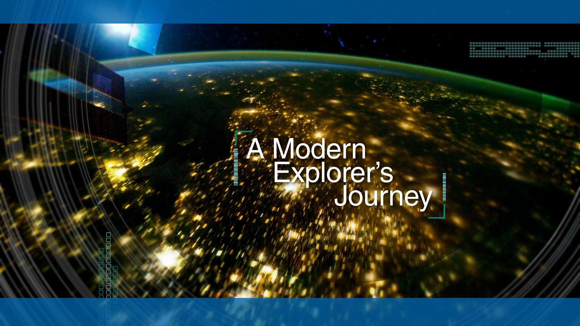 a modern explorer's journey